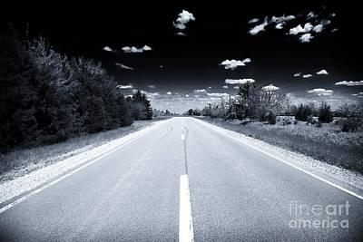 Photograph - Endless Highway by John Rizzuto
