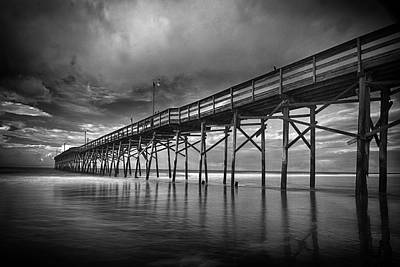 Photograph - Endless Pier by Alan Raasch