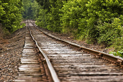 Photograph - Endless Railroad by Robert Culver