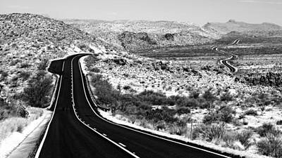 Photograph - Endless Road by Daniel Woodrum