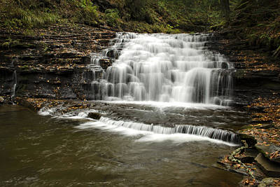 Photograph - Endless Waterfalls Salt Springs by Christina Rollo