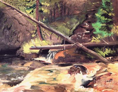 Endo Valley - Colorado Art Print