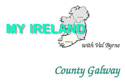 Mixed Media - Galway Logo by Val Byrne
