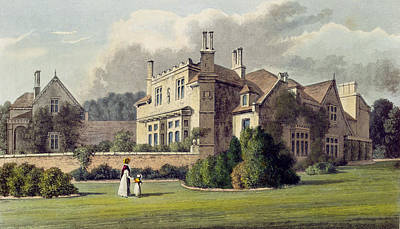 Endsleigh, From Ackermanns Repository Art Print by English School