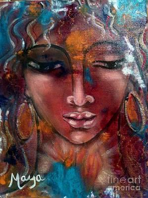 Conscious Mixed Media - Endurance by Maya Telford