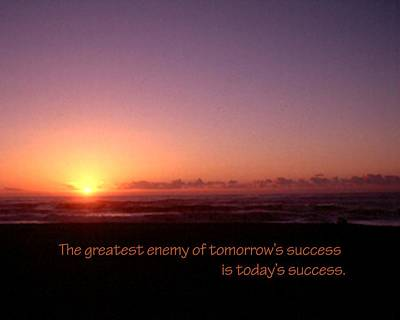 Jerry Sodorff Royalty-Free and Rights-Managed Images - Enemy Of Success 21157 by Jerry Sodorff