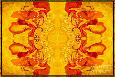 Painting - Energy Bodies Abstract Healing Artwork by Omaste Witkowski