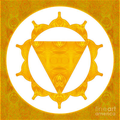 Digital Art - Energy Center Abstract Chakra Artwork By Omaste Witkowski by Omaste Witkowski