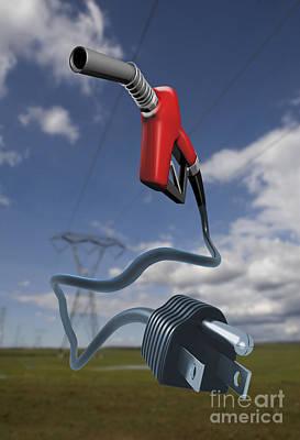 Energy Concept Art Print