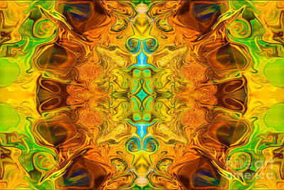 Painting - Energy Experiences Abstract Healing Artwork By Omaste Witkowski by Omaste Witkowski