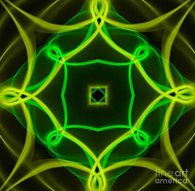Mandala Photograph - Energy by Sabine Jacobs
