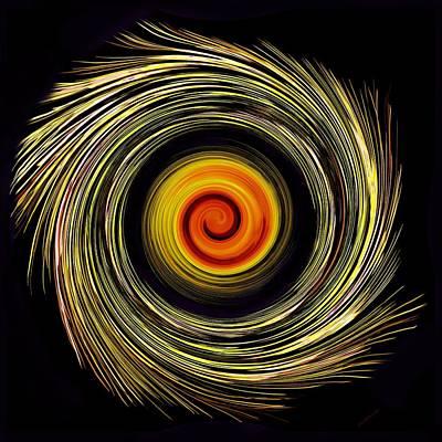 Digital Art - Energy Strands by Marcela Bennett