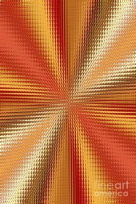 Photograph - Energy Waves Abstract by Carol Groenen