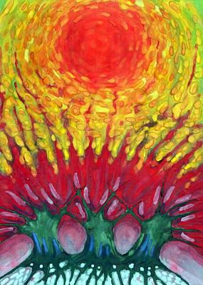 Energy Art Print by Wojtek Kowalski