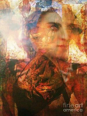 Yesayah Mixed Media - Enfant De Lumiere -child Of Light by Fania Simon