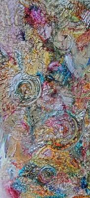 Acrylic Gel Mixed Media - Engima 1 by Jill Kraft