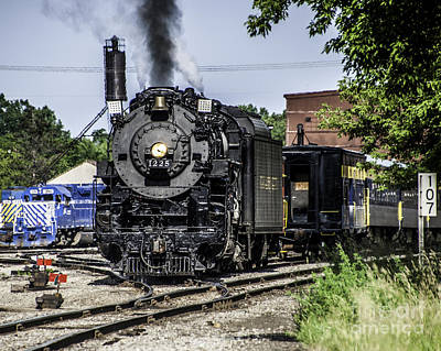Photograph - Engine 1225 by Ronald Grogan
