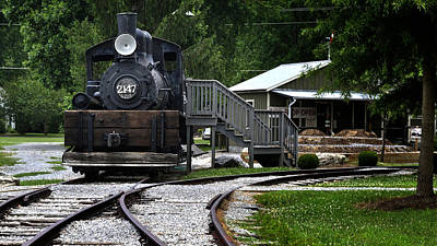 Photograph - Engine 2147 - Little River Rr by George Taylor