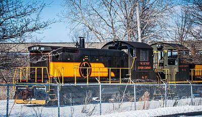 Photograph - Engine 217 by Ronald Grogan