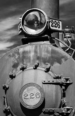 Photograph - Engine 226 by James Barber