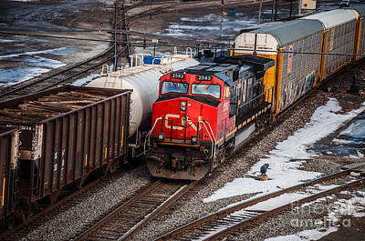 Photograph - Engine 2583 by Ronald Grogan