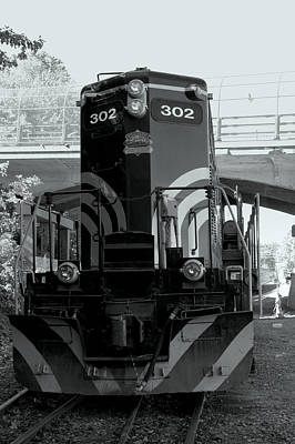 Photograph - Engine 302 by Caroline Stella
