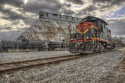 Photograph - Engine 414 by Jason Politte