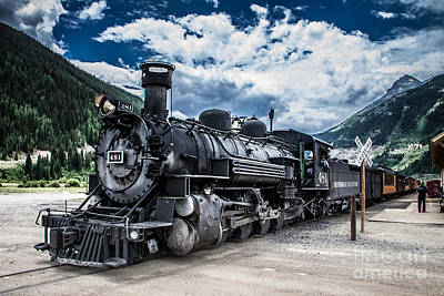 Engine 481 Art Print by Jim McCain