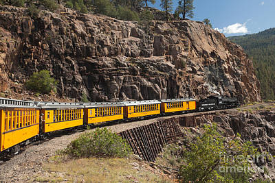 Photograph - Engine 481 On The Durango And Silverton Narrow Gauge Railroad by Fred Stearns