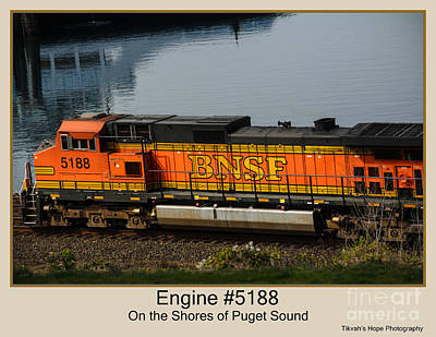 Photograph - Engine #5188 by Tikvah's Hope