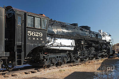 Photograph - Engine 5629 In The Colorado Railroad Museum by Fred Stearns