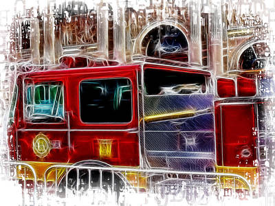 Photograph - Engine 66 by Fiona Messenger