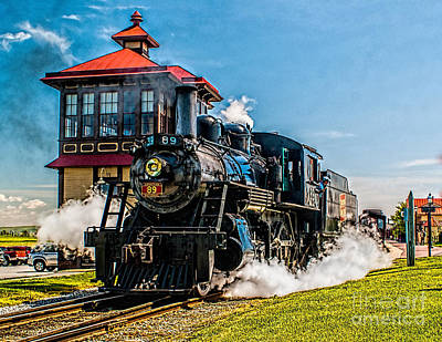 Photograph - Engine At Strasburg by Nick Zelinsky