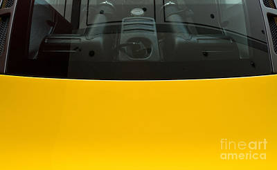 Photograph - Engine Bay Rear Window by Rick Piper Photography