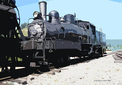 Photograph - Engine Engine #2 by Jacqueline  DiAnne Wasson