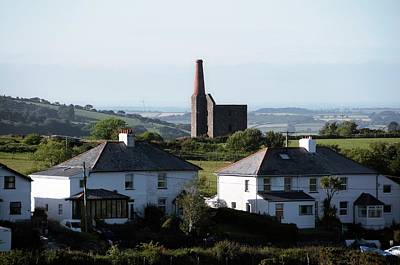 Engine House Photograph - Engine House Chimney At Minions by Sinclair Stammers