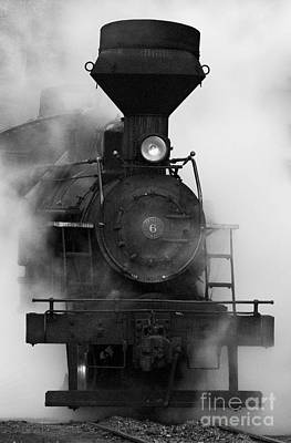 Art Print featuring the photograph Engine No. 6 by Jerry Fornarotto