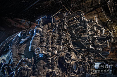 Photograph - Engine Room by David Arment