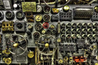 Engine Room Art Print