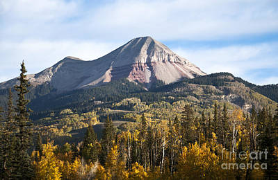 Engineer Mountain Colorado Art Print by David King