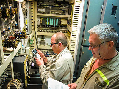 Photograph - Engineering Control Room by Gregory Daley  PPSA