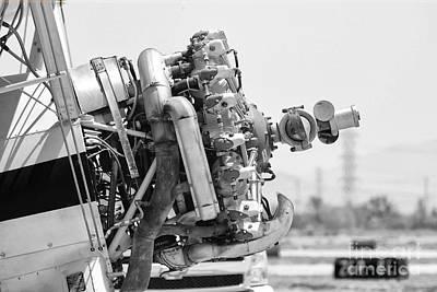 Engines Ready Art Print by Mkaz Photography