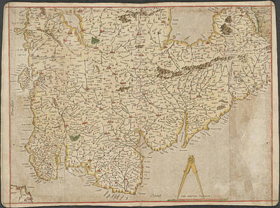 Cartography Photograph - England by British Library