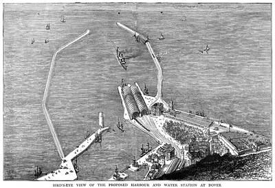 England Dover, 1872 Art Print