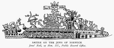 Painting - England Jews, 13th Century by Granger