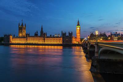 England, London Parliament Art Print by Jaynes Gallery