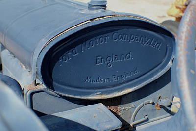 Photograph - England  by Trent Mallett