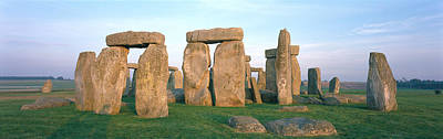 Lintels Photograph - England, Wiltshire, Stonehenge by Panoramic Images