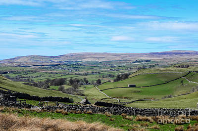 Photograph - England - Yorkshire Dales by Mary Carol Story
