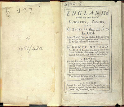 England's Newest Way In Cookery Art Print by British Library